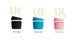 JOCO Reusable Glass Cup  Regular 12oz/340ml - Assorted Colours Available x 1