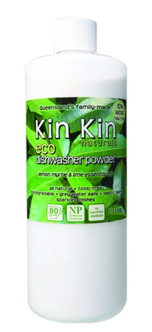 KIN KIN Naturals Eco Dishwasher Powder 1.1kg - Lemon Myrtyle & Lime