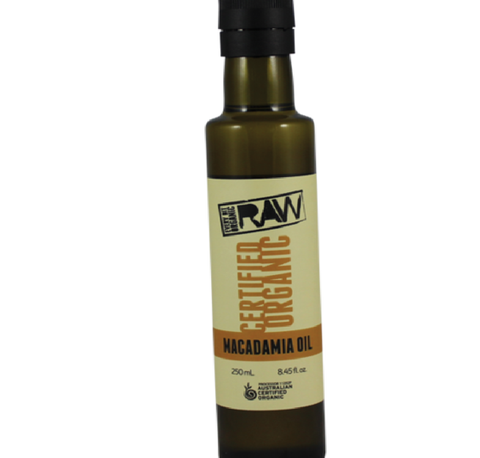 Every Bit Organic Certified Organic Macadamia Oil 250ml