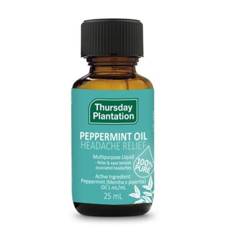 Thursday Plantation Peppermint Oil Headach Relief 25ml