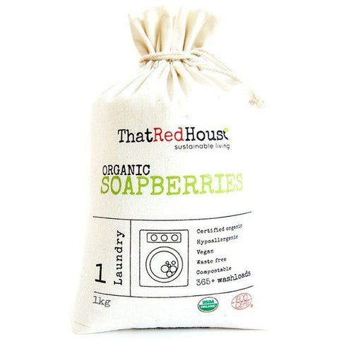 Eco Laundry All Natural Organic Soapberries/ Soapnuts 1KG