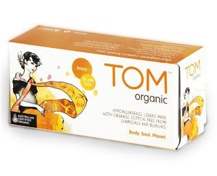 Tom Organic Ultra Thin Day Pads with Wings