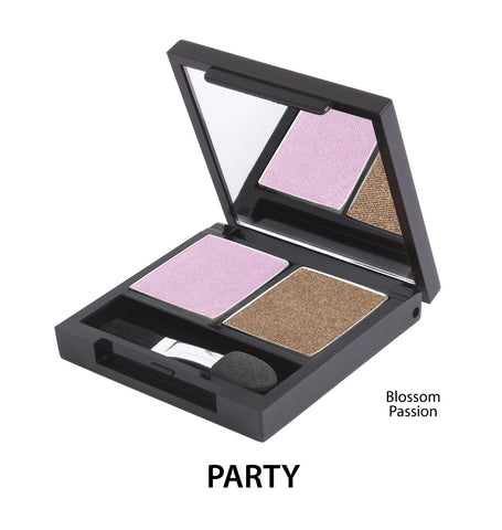 Zuii Certified Organic Duo Eyeshadow Palette-Party