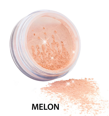 Zuii Certified Organic Flora Diamond Sparkle Blush-Melon