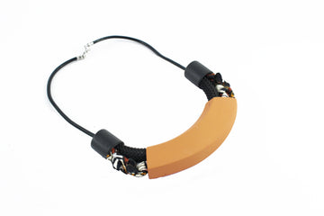 Amara necklace / Ocher