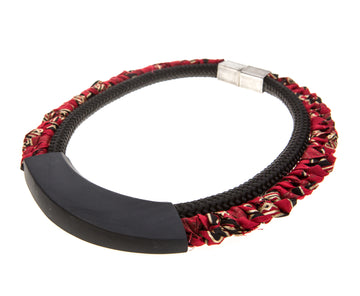 Dara necklace / Tribal red