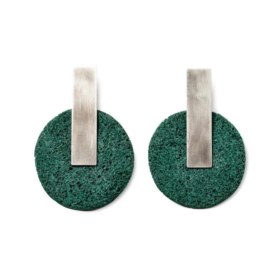 Dari Earring / White Foam