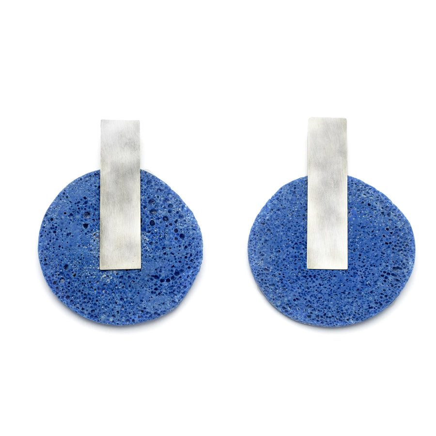 Dari Earring / Blue Foam