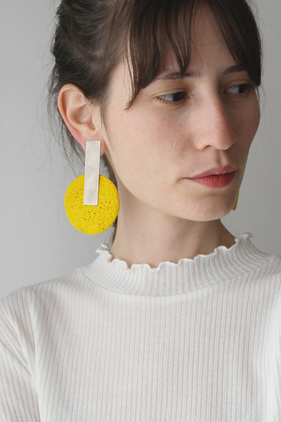 Dari Earring / Yellow Foam