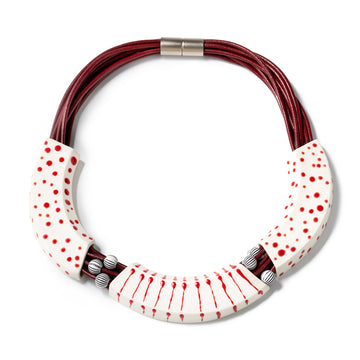 MAKENA NECKLACE - Red