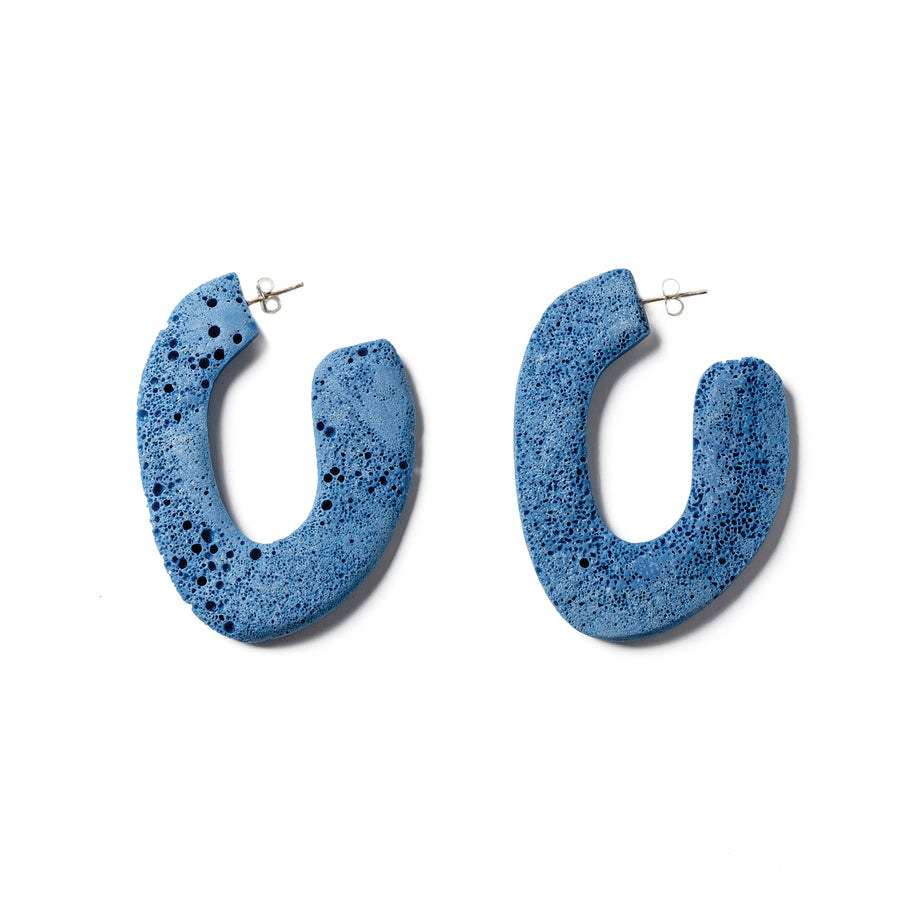 Toto Earring / Blue Foam
