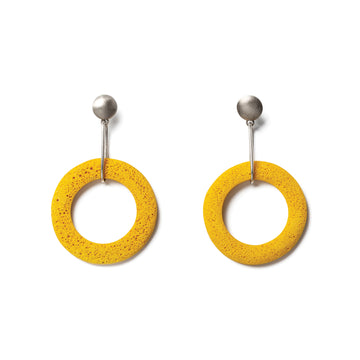 Shani Earring / Yellow foam