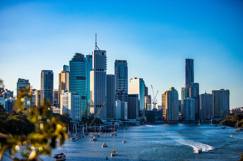 brisbane from the river