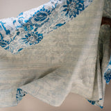 The Throw Co | Seasons Turquoise Kantha Throw