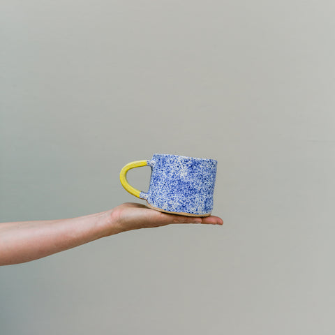 Claydates | Speckled Blue Cup