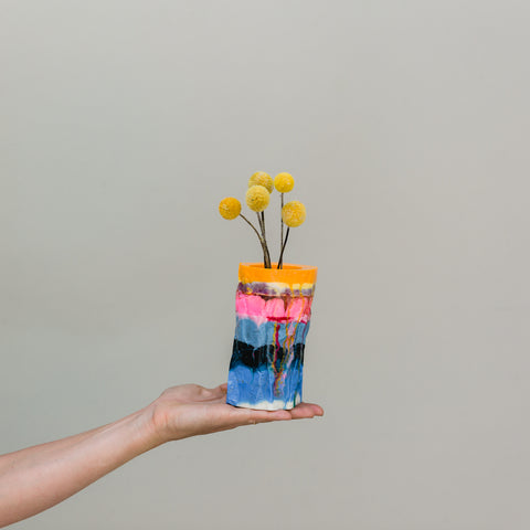 Flock Curiosity Assembly | Resin Vase Medium