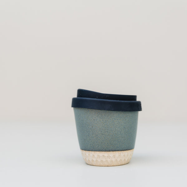Mudhavi | Go Cup 6oz Honeycomb Charcoal