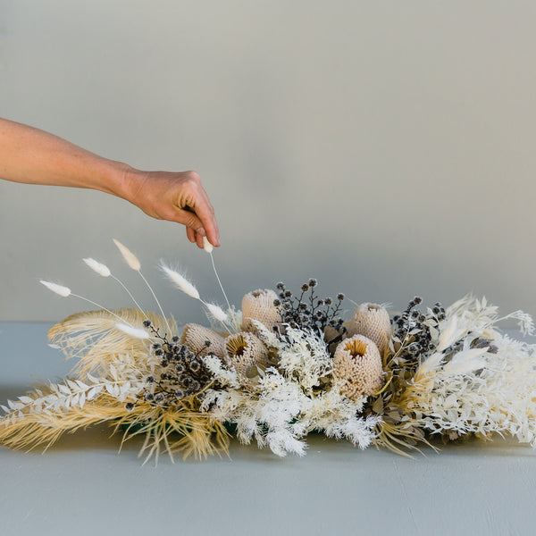 Wedding Table Centrepiece | Blanc de Blanc
