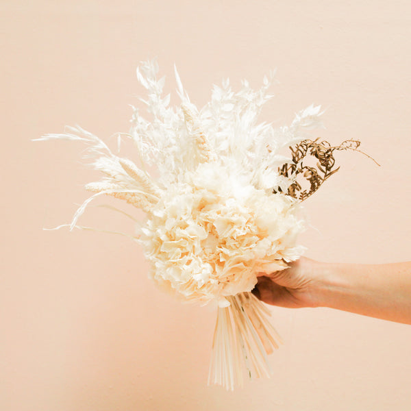 Bridesmaid Bouquet | White Wedding