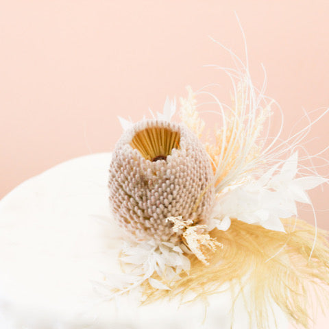 Wedding Cake Topper | Blanc de Blanc