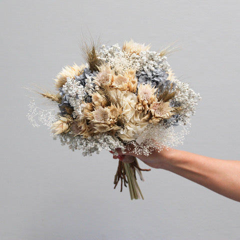 Bridal Bouquet | Pewter