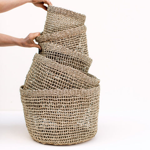 Gather | Morgan Open Weave Basket