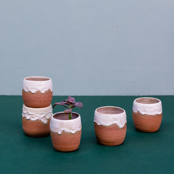 Currumbin Valley Ceramics | Drippy Glaze Vessel