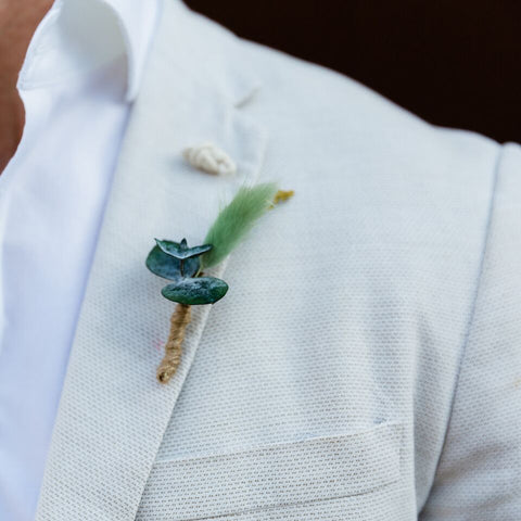 Wedding Boutonniere | Bohemia Bush Walk