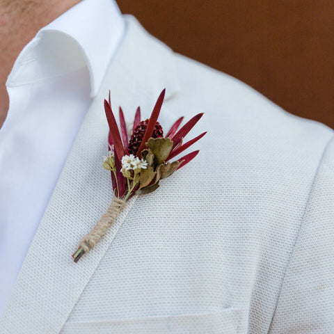 Wedding Boutonniere | Wild Woods