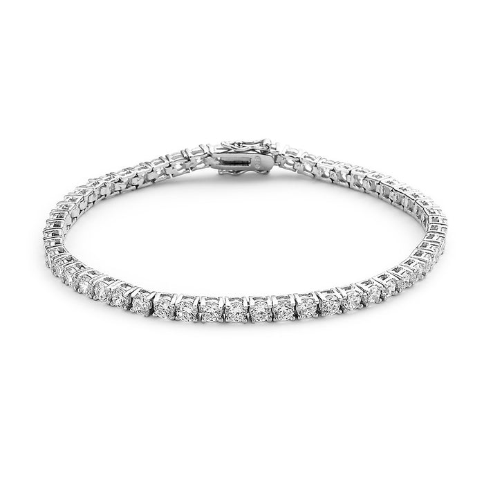Tennis Bracelet made with Premium Zirconia