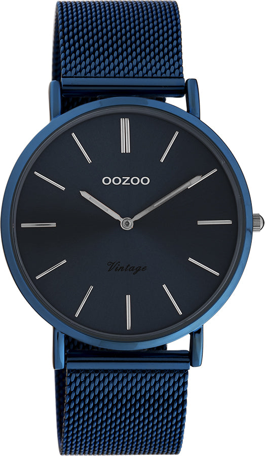 OOZOO Vintage Night Blue Watch