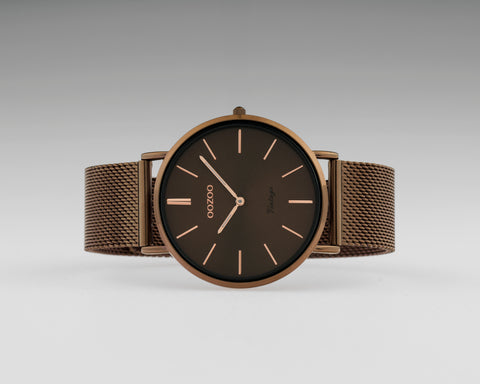 OOZOO Vintage Brown Watch