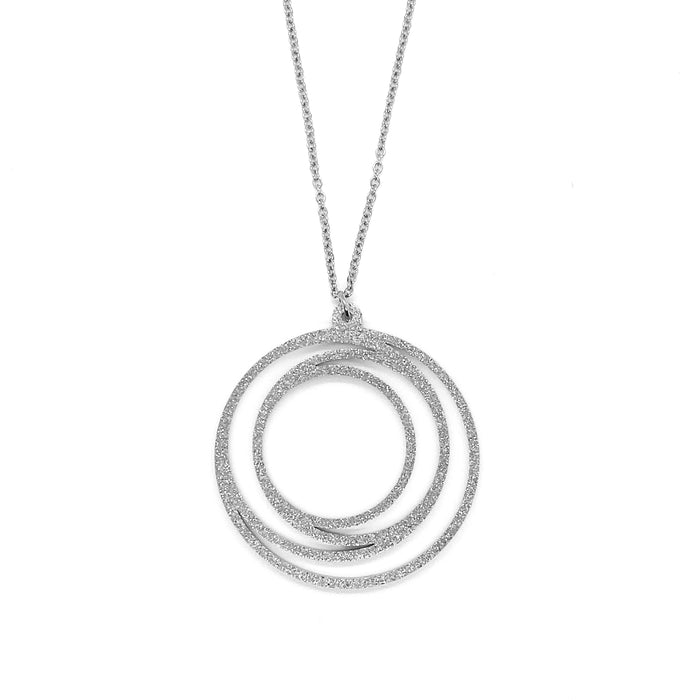 Metallic Circle Necklace