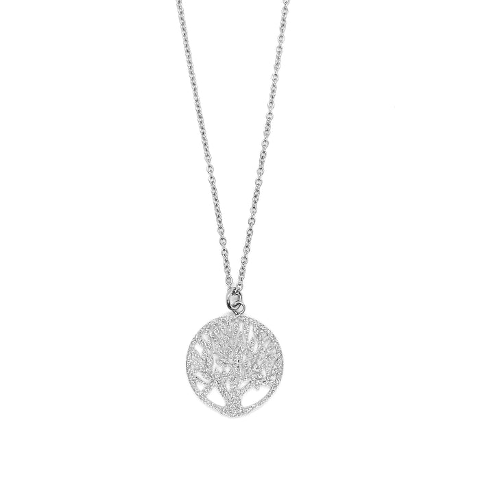 Metallic Tree of Life Necklace