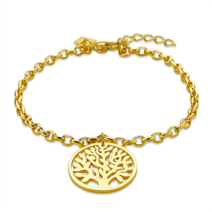 Gold Tree of Life Bracelet