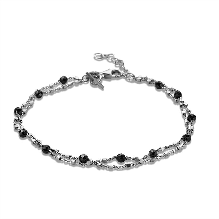 Black Crystal Bracelet
