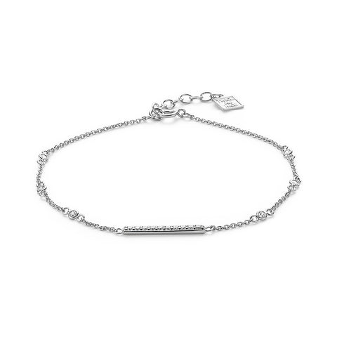 Crystal Bar Bracelet