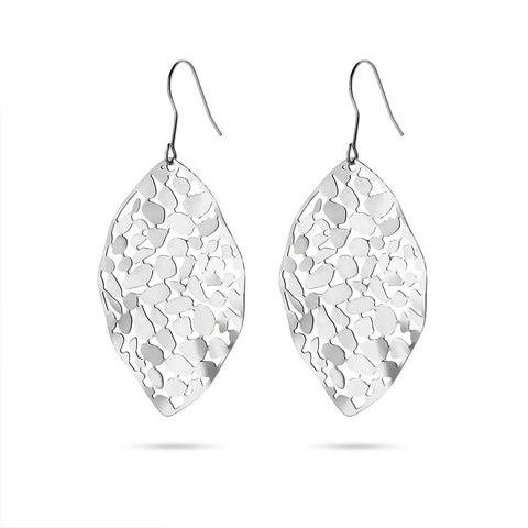 Leaf Cut Earrings