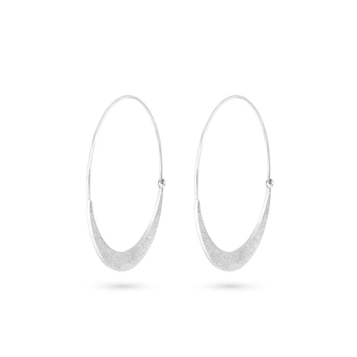 Metallic Finish Hoops