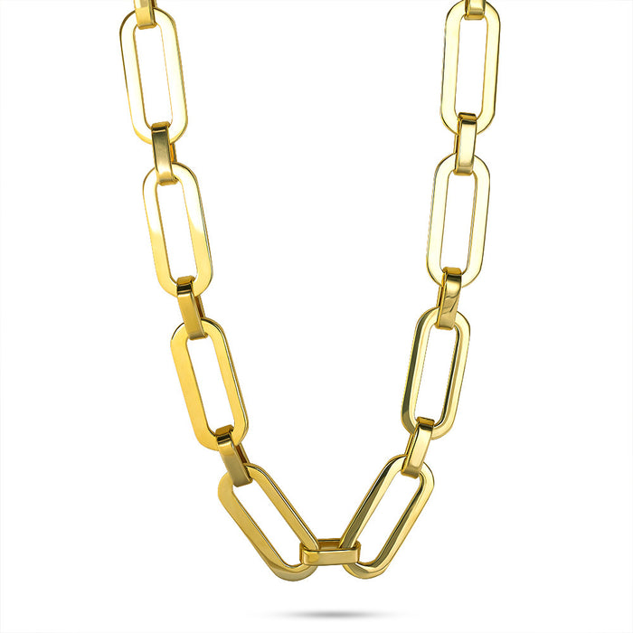 Gold Chunky Link Chain