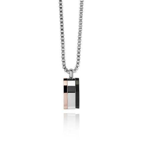 Men's 3-Tone Necklace