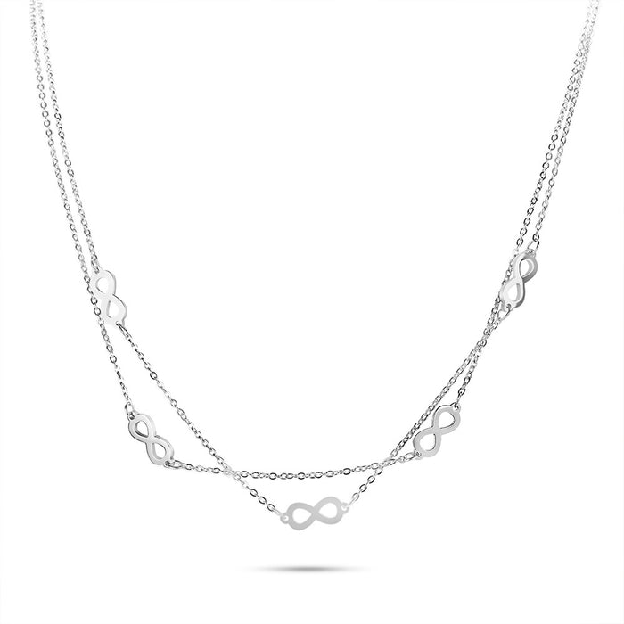 Layered Infinity Necklace