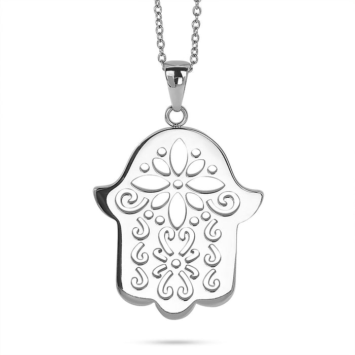 Decorative Hamsa Necklace