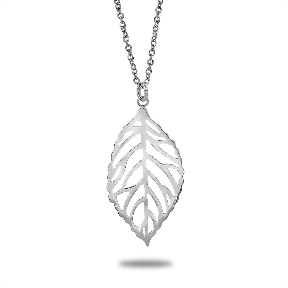 Leaf Cut Necklace