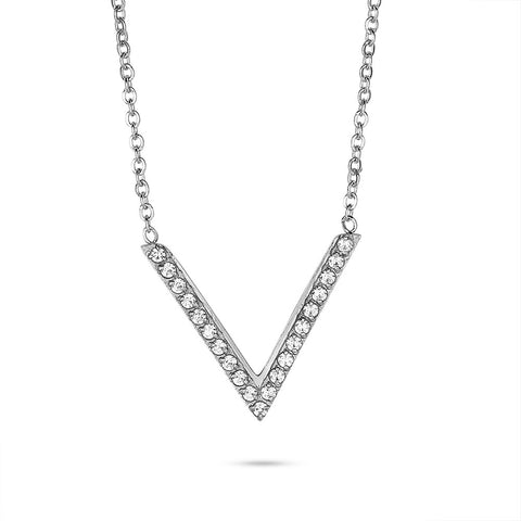 Crystal Triangle Necklace