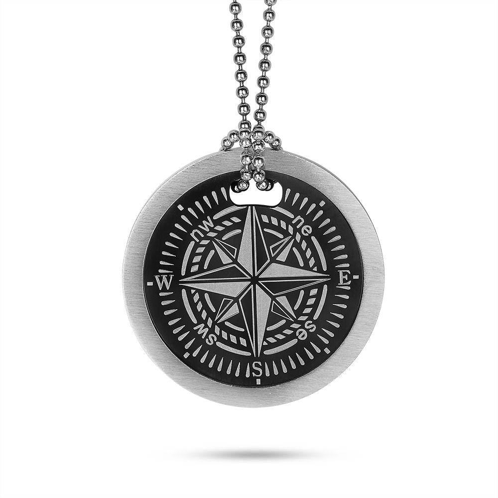 Men's Compass Necklace