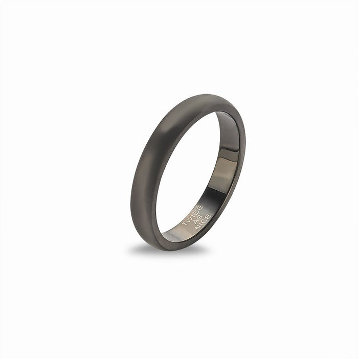 Men's Matte Black Band