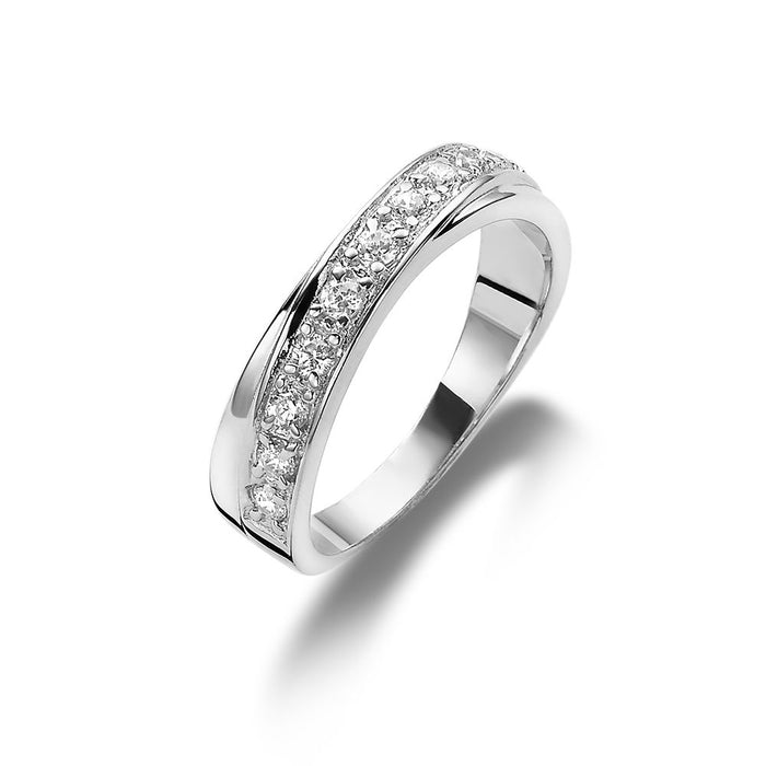 Crossover Ring made with Premium Zirconia