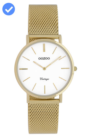 OOZOO Vintage Gold Watch