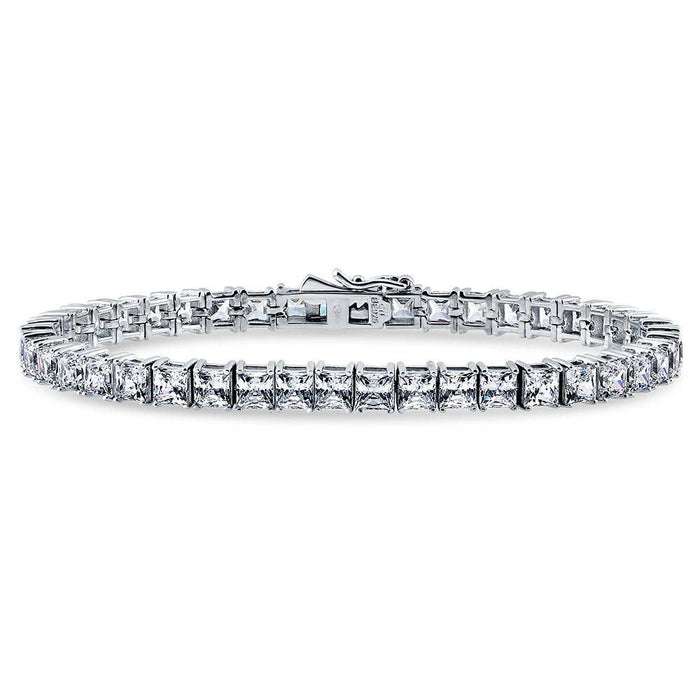 Princess Cut Tennis Bracelet made with Swarovski® Zirconia